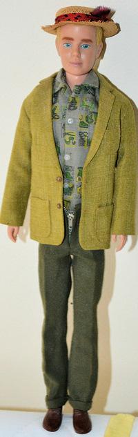 Vintage Ken Doll Wearing Dreamboat