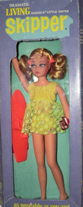 1971 Living Skipper Doll