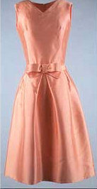 Oleg Cassini designed belle dress from early 1960s, worn by Jaclie Kennedy
