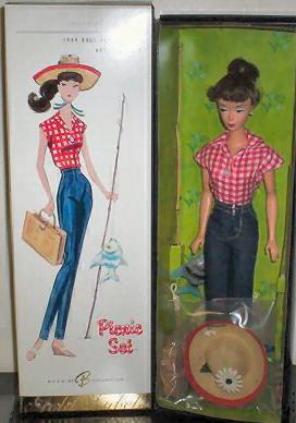 Picnic Set Vintage Barbie Reproduction