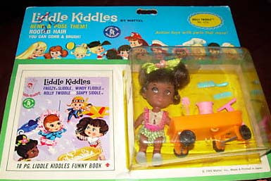 Rolly Twiddle Kiddle Mint on Card
