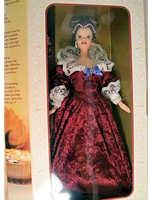 Sentimental Valentine Barbie Hallmark Exclusive