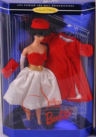 1998 Silken Flame Vintage Barbie Doll Reproduction