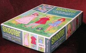 Vintage Skooter Cut 'n Button Set