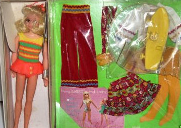 Vintage Skipper Sunshine Fluff Doll Gift Set #1249 (1971) Special Sears Exclusive