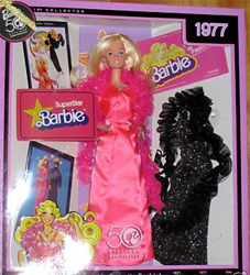 Superstar Barbie Reproduction NRFB
