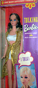 Talking Barbie Doll