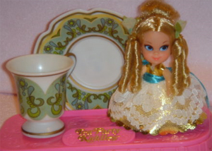 Lady Lace Tea Party Kiddle