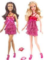 Valentine Wishes Barbie
