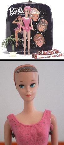 Vintage Barbie Doll Miss Barbie