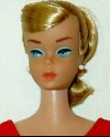 Vintage Barbie Swirl Ponytail Doll