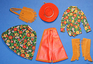 Vintage Barbie Gaucho Gear