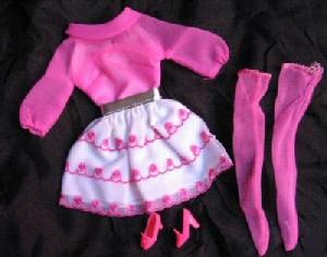Vintage Barbie Happy Go Pink