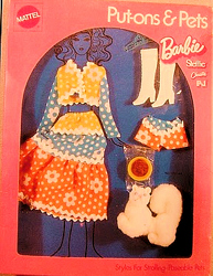 Vintage Barbie Kitty Kapers #1062 (1972)