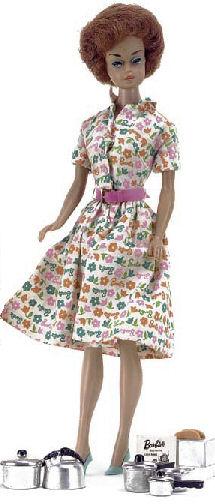 Vintage Barbie Lunchtime