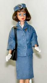 Vintage Barbie Pan American Airways Stewardess