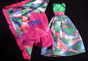 Vintage Barbie Rainbow Wraps