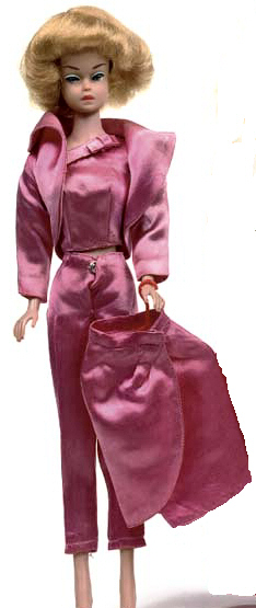 Vintage Barbie Satin N Rose