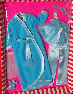 Vintage Barbie Satin Slumber