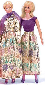 Vintage Barbie Silver Blues & Fancy That Purple