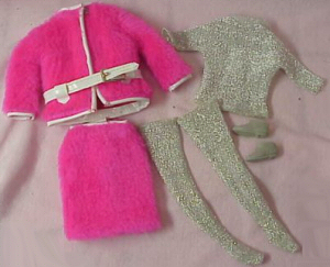 Vintage Barbie Snug Fuzz