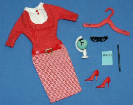 Vintage Barbie Student Teacher