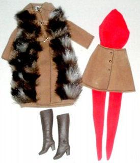 Vintage Barbie Suede 'n Fur