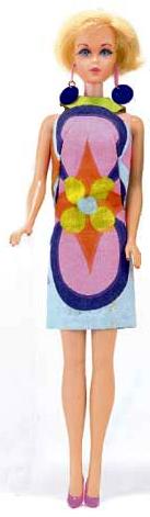 Vintage Barbie Sunflower
