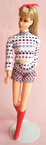 Vintage Barbie The Short Set