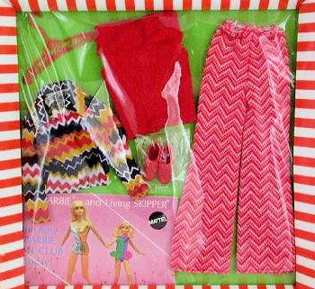 Vintage Barbie The Zig Zag Bag Ensemble