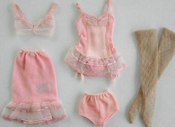 Vintage Barbie Under Fashions