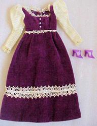 Vintage Barbie Victorian Velvet