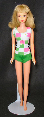 Vintage Bendable Leg Francie Doll