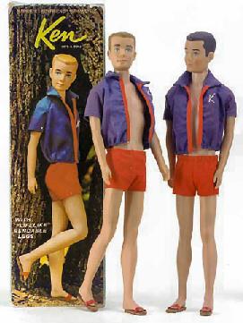 Vintage Bendable Leg Ken Doll