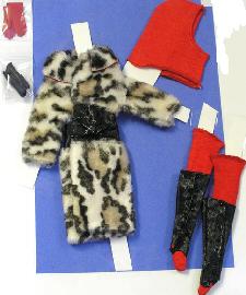 Vintage Francie Fur Out
