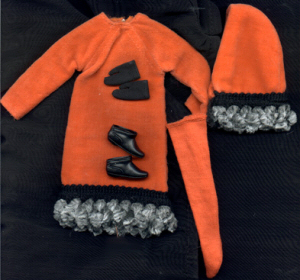 Vintage Francie Orange Cozy