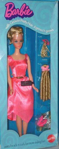Vintage Growin' Pretty Hair Barbie Doll