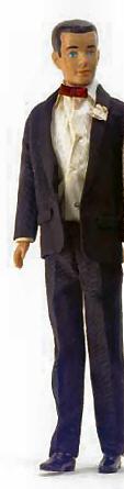 Vintage Ken Doll in Tuxedo