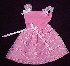 Vintage Skipper Party Pink Pak Dress