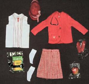 Vintage Skipper School Girl