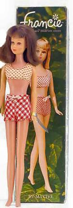 Vintage Straight Leg Francie Doll