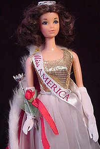 Walk Lively Miss America Doll