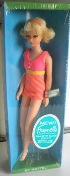 1969 Twist and Turn Francie Doll