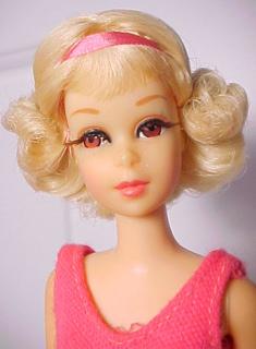 1969 Twist and Turn Francie Doll