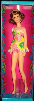 1970 Twist and Turn Francie Doll NRFB