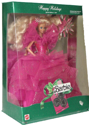 1990 Happy Holiday Barbie