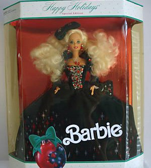1991 Happy Holiday Barbie