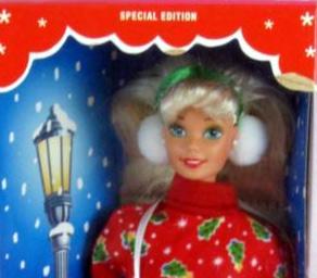 1995 Caroling Fun Barbie