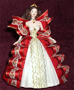 1997 Holiday Barbie Ornament