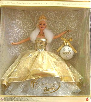 2000 Celebration Barbie NRFB